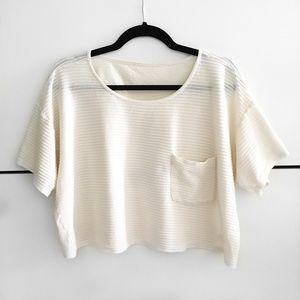 American Apparel Crop Top T-Shirt